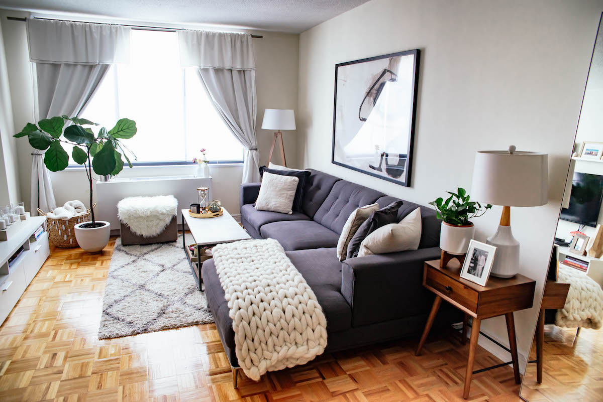 interior designs for apartment living rooms room ready made curtains new york city tour kitchen katie s bliss