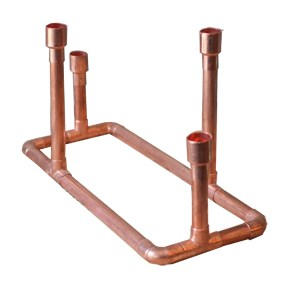 Copper Pipe Candleholder