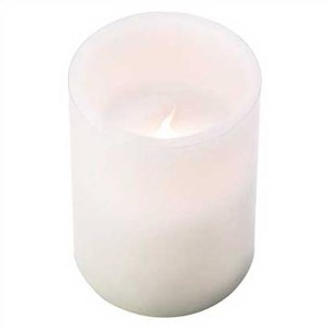 Flameless Pillar Candle – 3×4