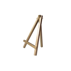 Easel Table Number Holder, gold mini