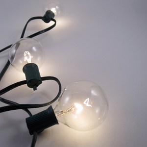 2 In  Clear Globe String Lights