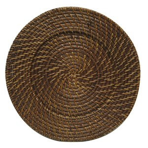 Woven Charger – Brown