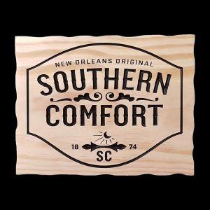 Southern Comfort Themed Menu