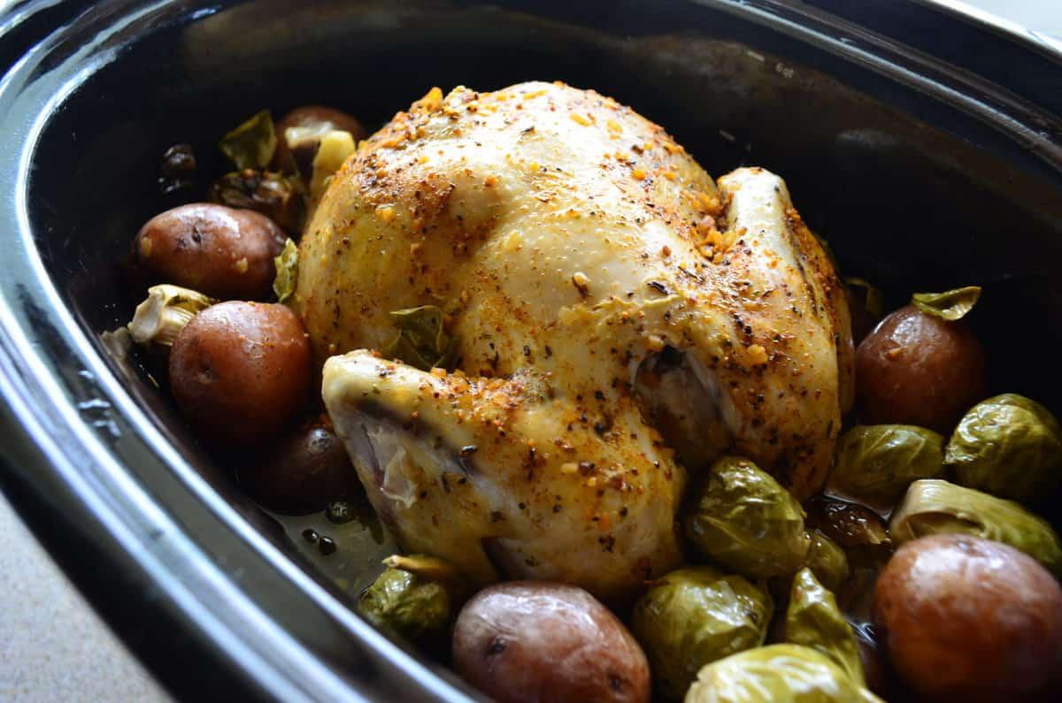 Slow Cooker Chicken And Potato Dinner  Katies Cucina