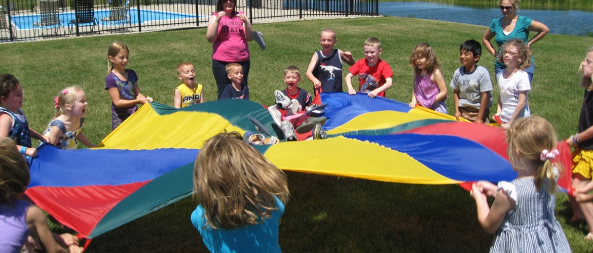 parachute fun kids image