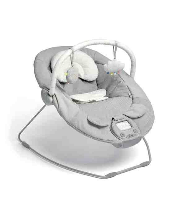 Mamas & Papas Apollo Bouncer Chair – Pebble Grey