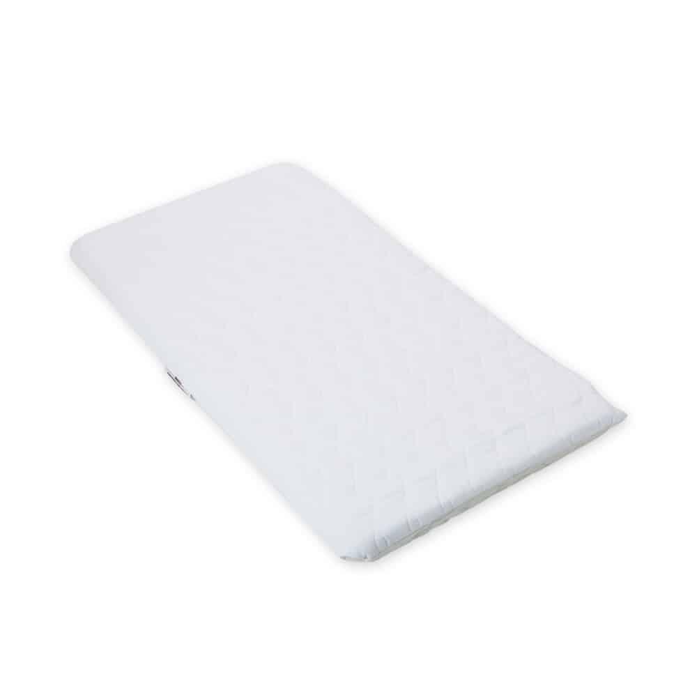 SUZY® Microfibre Hypoallergenic Crib Mattress 89 x 40 x 4cm Thick – Square Corners