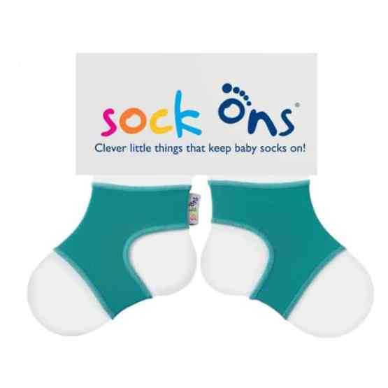 Sock Ons Turquoise (0-6 Months)