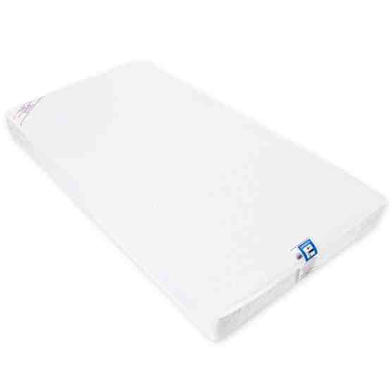 KATY® Luxury Microfibre Spring Hypo Allergenic Cot Mattress Fully Bound With Taped Edge 140 x 70 x 10cm Thick
