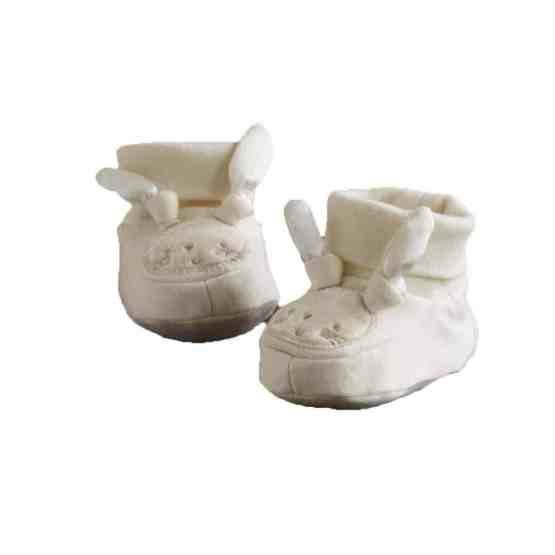Natures Purest Pure Love Booties 0-6 Months