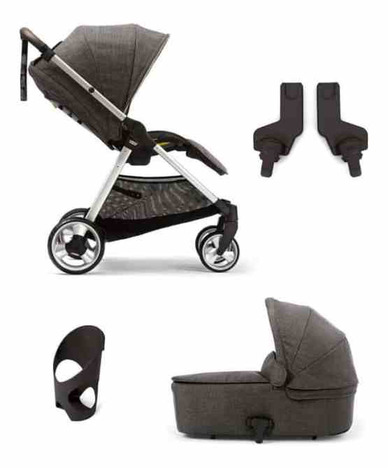 EX-DISPLAY Mamas & Papas Flip XT2 4 Piece Package- Chestnut