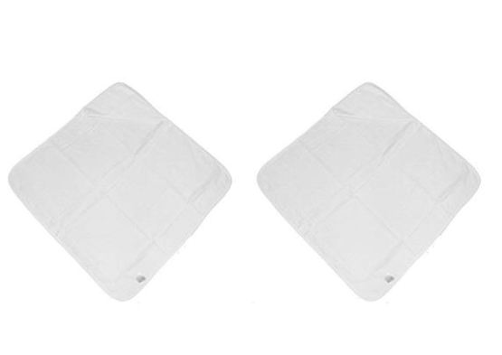 White Hooded Terry Towelling Bath Robes – Pack of 2