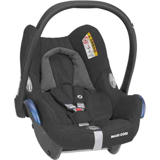 Maxi-Cosi CabrioFix Infant Car Seat – Essential Black