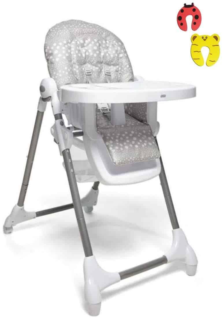 Mamas & Papas Snax Highchair – Grey Spot