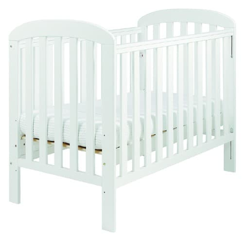 Eastcoast 3 Piece Anna Cot Package- White