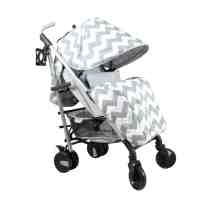 My Babiie MB51 Grey Chevron Stroller