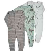 3 Pack Dino Babygrow