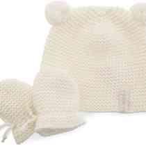 0251A Pom Pom Hat & Mitts
