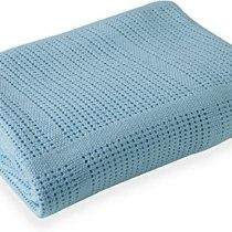 CDL Cellular Blanket Blue