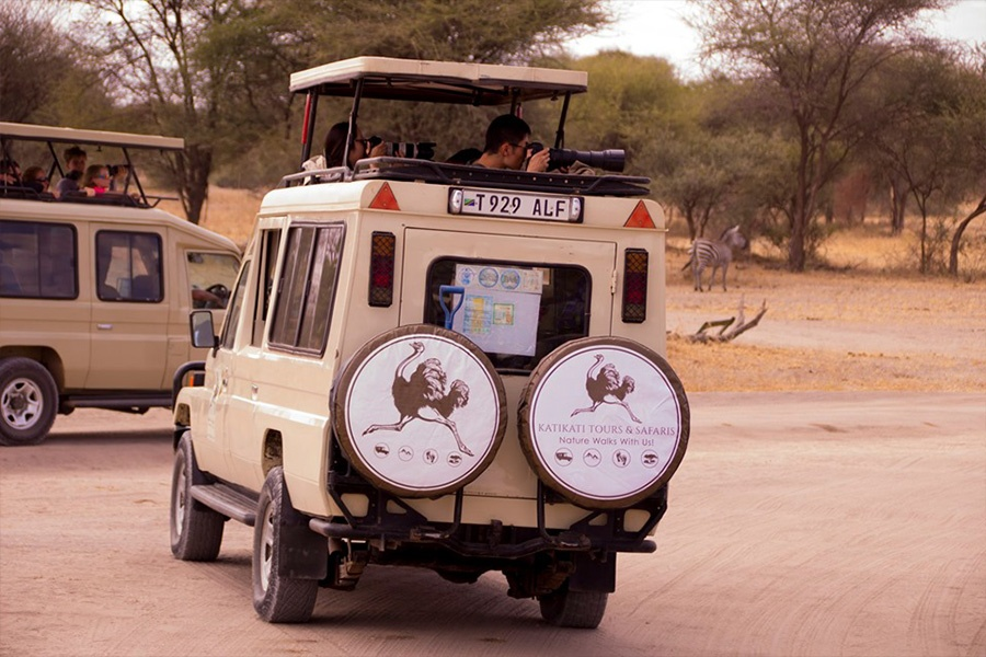 Katikati Safari's Vehicle in Tarangire