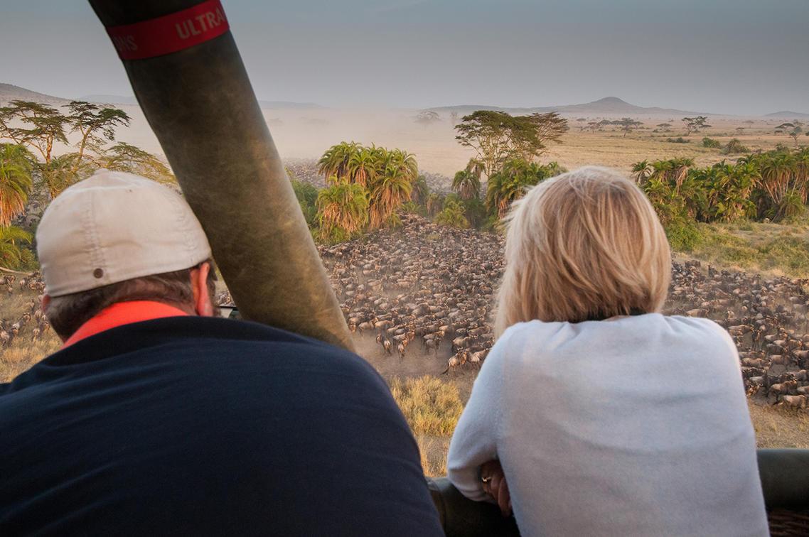 Hot Air Serengeti Balloon Safari