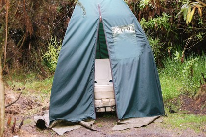 Kilimanjaro Private Toilet