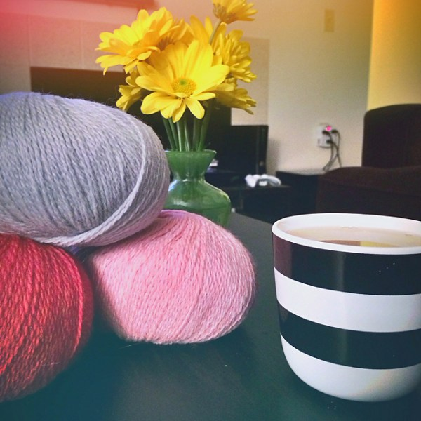 Yarn, Cider and Flowers || katili*made || http://katilimade.com