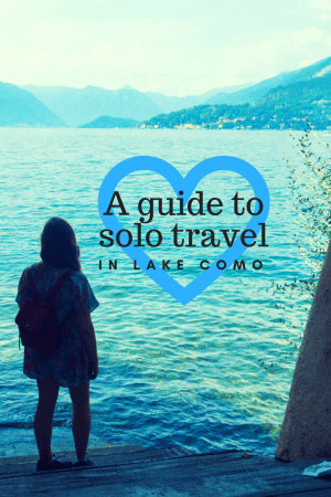 Lake Como is one of the most beautiful destinations on earth but that doesn't make it just a place for honeymooners. In fact it is one of the safest and best suited places in Italy for solo travel!