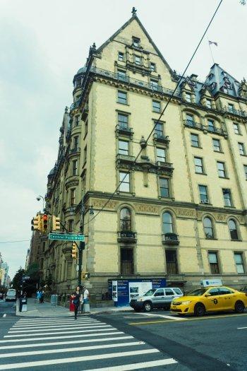 Image of the Dakota Building in New York City