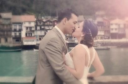 Reportaje de boda en Pasai Donibane