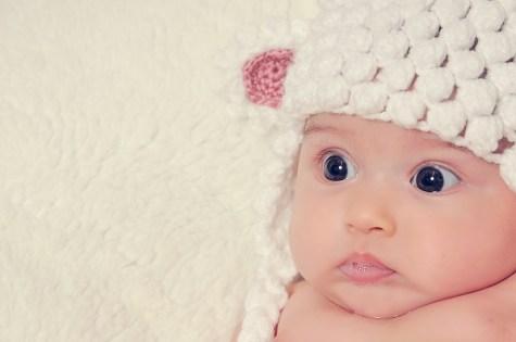 Fotografía de estudio bebé