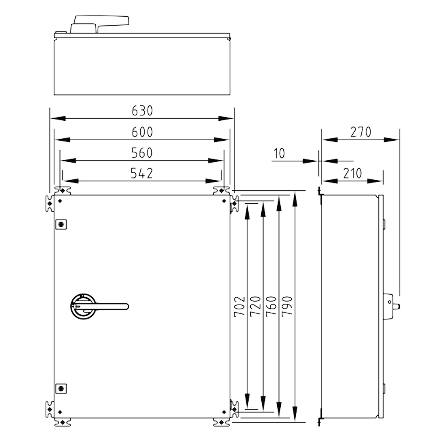 hight resolution of product diagram