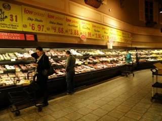 Wegmans meat counter