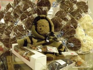 Lippe at Stevers' Chocolates