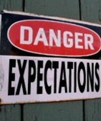 Danger! Expectations!