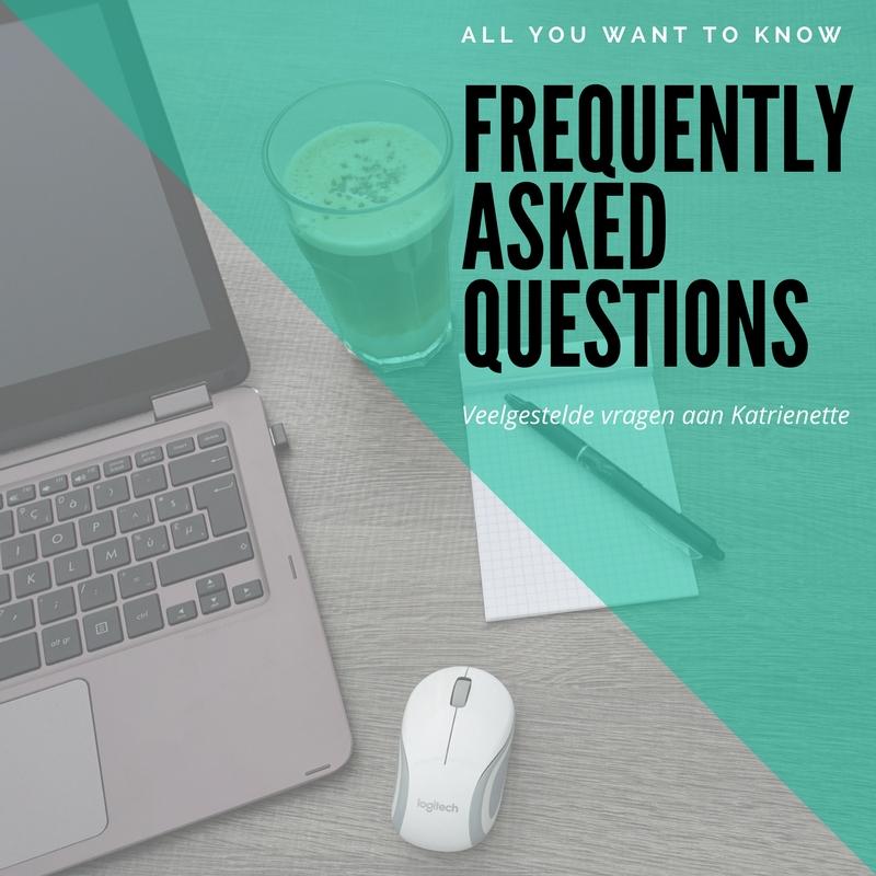 Katrienette FAQ FAQs Vaakgestelde Vragen