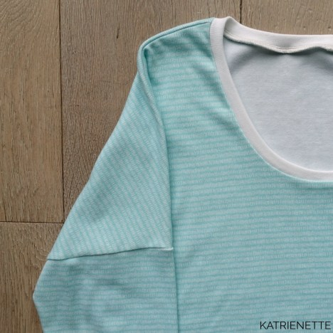 katrienette zomer sweater trui rico woodland comping turquoise strokes just another tee basic t-shirt