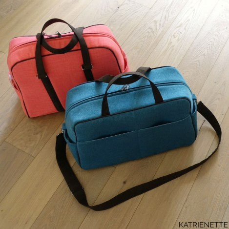 Stella weekender katrienette swoon swoonpatterns vivian traveler bag tas style-vil stylevil fast2fuse reistas weekendtas zelf genaaid bagmaker sewingblogger