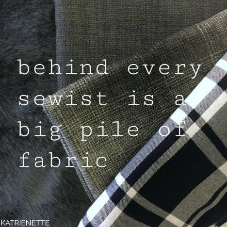 katrienette fabric stoffen faux fur imitatie bont kunstbont stoff & still quote sewing sewist