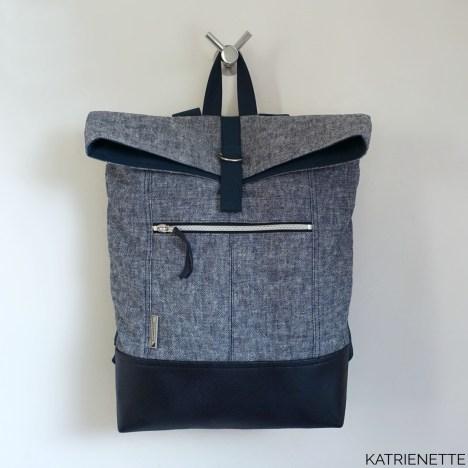 Katrienette Katrienetteworkshop workshop Range Backpack Noodlehead Rugzak sewing bag bags naaien tas tassen zelf gezin outdoor patroon wandel wandelen