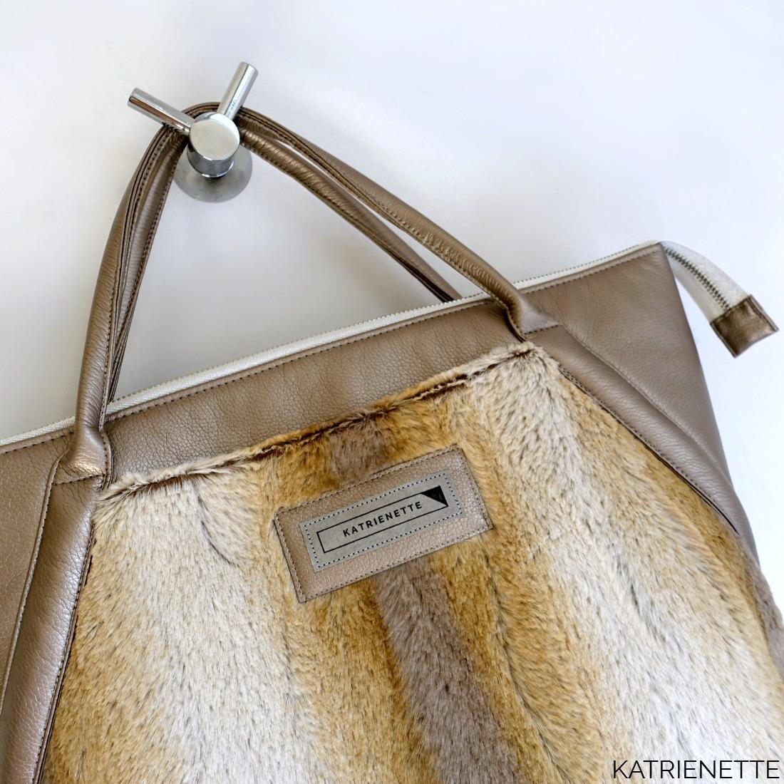 dded312edee Katrienette Mathilda mijn tas mijntas 2 twee II blogtour kunstleer nepleer  imitation leather fake faux fur