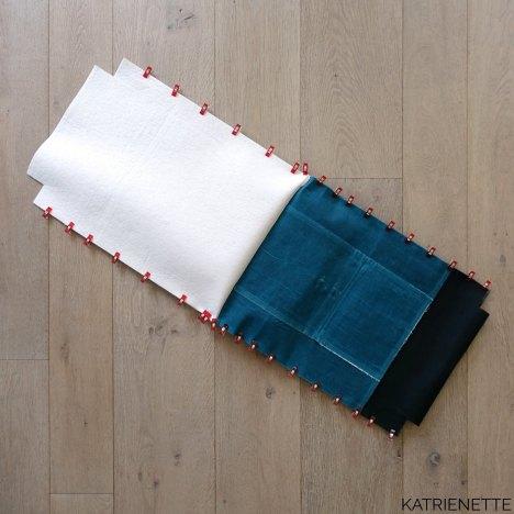 Katrienette Katrien Range Backpack Noodlehead waxed cotton AlFrances Al Frances hack top zipper pressure lock closure sewing bag waterproof naaien rugzak katoen wax
