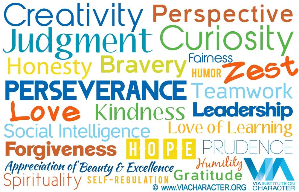 personal characteristics examples