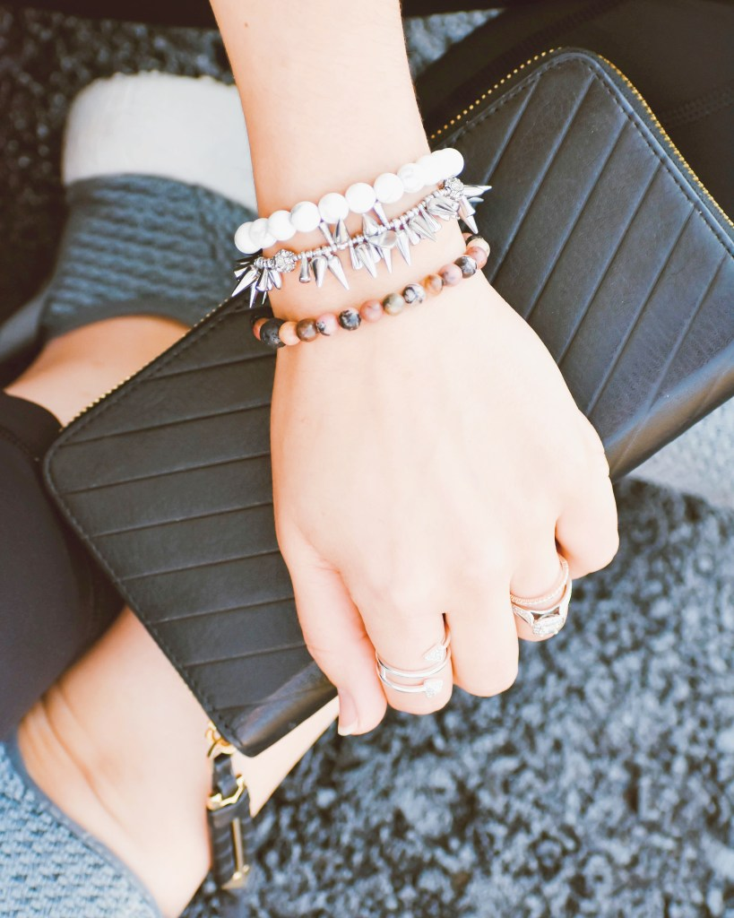 am arm party makes this casual athleisure look more street savvy