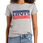 Levi's graph tee for easy casual look