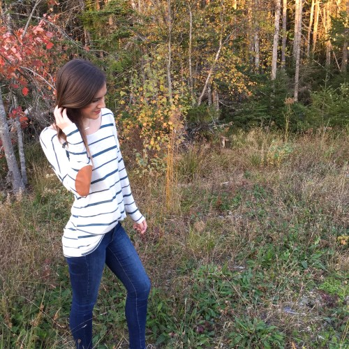 Stripes for fall with Katrina Gwen Rose