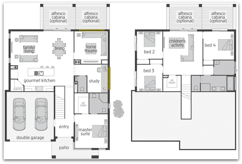 Floor Plan Friday: Split level home