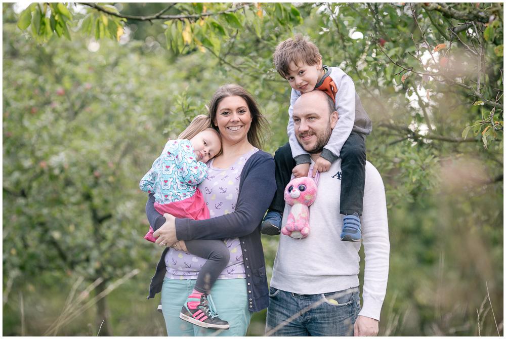 Familienfotos im Herbst Hochzeitsfotograf Katrin and