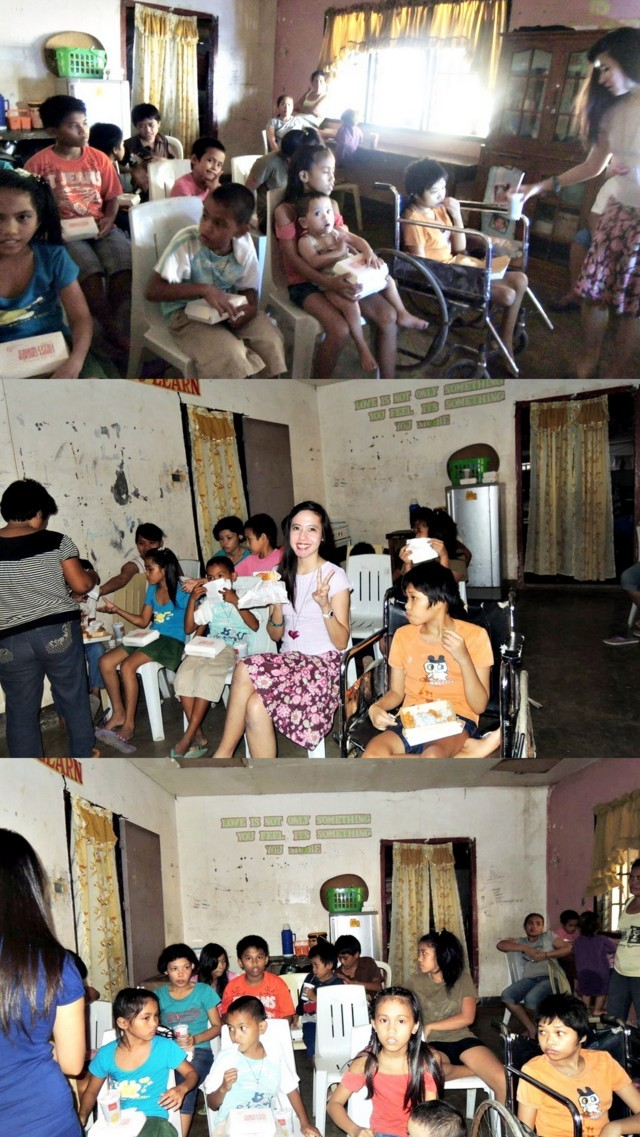 lingap center butuan, feeding program, anniversary, community outreach, homeless children