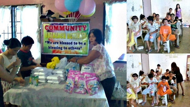 lingap center butuan, feeding program to homeless children, community outreach